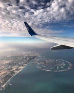 טיסה ישירה לדובאי